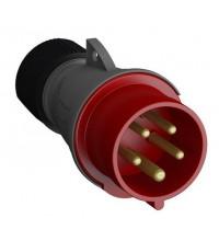 Вилка кабельная Easy&Safe 416EP6 16А 3P+N+E IP44 6ч ABB 2CMA101967R1000