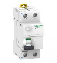 Выключатель дифференциального тока (УЗО) 2п 25А 30мА тип A iID SchE A9R21225