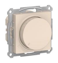 Механизм светорегулятора (диммера) AtlasDesign поворотно-нажимной 630Вт беж. SchE ATN000236
