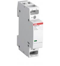 Контактор ESB20-20N-01 модульный (20А АС-1 2НО) катушка 24В AC/DC ABB 1SBE121111R0120