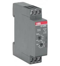 Реле времени CT-ERC.12 компактное (задержка при включ.) 24-48B DC 24-240B AC (7 диапазонов времени 005с...100ч) 1ПК ABB 1SVR508100R0000