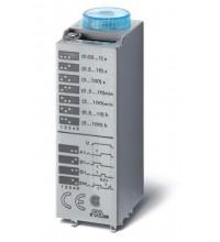 Таймер миниатюрный мультифункциональный (AI DI SW GI) монтаж в розетку 240В AC 4CO 7А 0.05с…100ч IP FINDER 850482400000