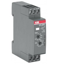 Реле времени CT-AHC.12 компактное (задержка при отключ.) 24-48B DC 24- 240B AC (7 диапазонов времени 005с...100ч) 1ПК ABB 1SVR508110R0000