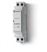 Реле модульное электронное 1NO 16А 230В AC 17.5мм IP20 FINDER 138182300000