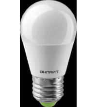 Лампа 82 912 OLL-G45-10-230-2.7K-E27-PROMO 10Вт ОНЛАЙТ 82912