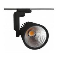 Cветильник трековый светодиодный FL-LED LUXSPOT 45W BLACK 3000K 4500Лм 45Вт 220-240В FOTON