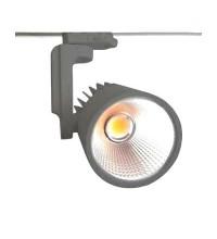 Cветильник трековый светодиодный FL-LED LUXSPOT 45W GREY 3000K 4500Лм 45Вт 220-240В FOTON