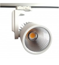 Cветильник трековый светодиодный FL-LED LUXSPOT 45W WHITE 3000K 4500Лм 45Вт 220-240В FOTON
